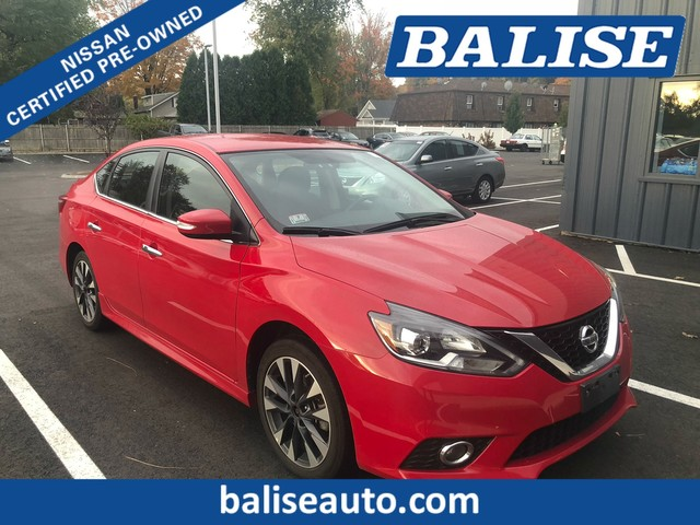 Certified Pre Owned 2016 Nissan Sentra Sr With Navigation