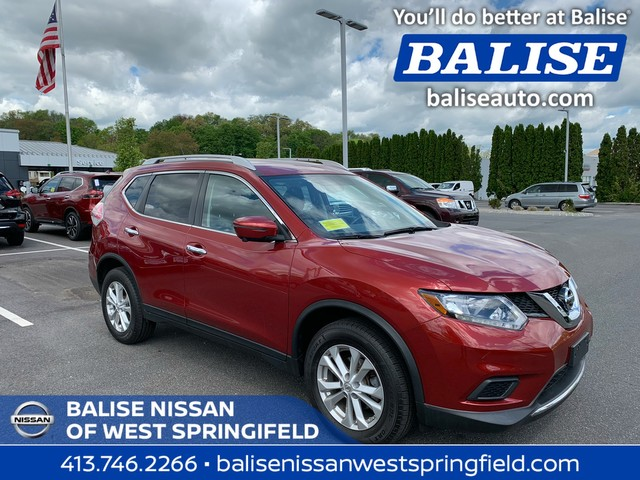 Pre-Owned 2016 Nissan Rogue AWD SV With Sunroof and Navi