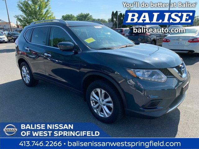 Pre-Owned 2016 Nissan Rogue AWD SV Sunroof & Navigation