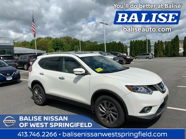 Pre-Owned 2016 Nissan Rogue AWD SL With Sunroof