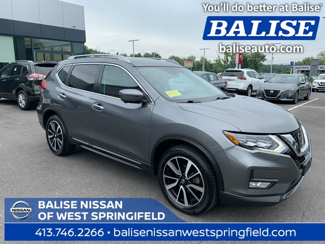 Pre-Owned 2017 Nissan Rogue SL With Navigation