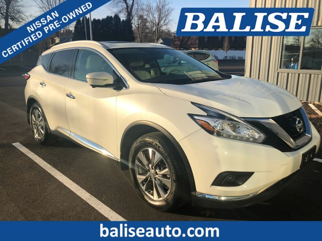 Certified Pre-Owned 2015 Nissan Murano AWD SL With Navigation