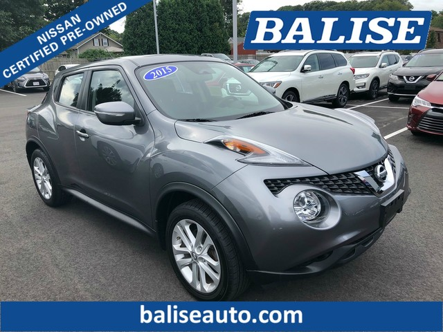 Certified Pre-Owned 2015 Nissan JUKE AWD S