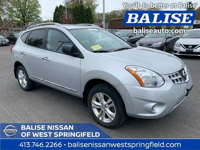Nissan Rogue Select >> Pre Owned 2015 Nissan Rogue Select Awd S Suv In West Springfield