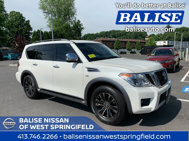 Pre-Owned 2017 Nissan Armada AWD Platinum With Navigation and Sunroof