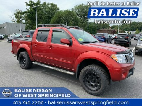 Pre-Owned 2013 Nissan Frontier 4WD PRO-4X Crew Cab