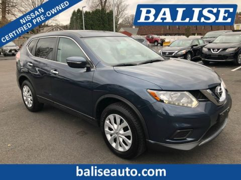 Certified Pre-Owned 2015 Nissan Rogue AWD S