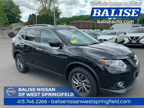 Pre-Owned 2016 Nissan Rogue AWD SL With Navigation and Panoramic Sunroof