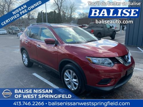 Certified Pre-Owned 2016 Nissan Rogue AWD SV With Sunroof and Navi