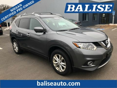 Certified Pre-Owned 2016 Nissan Rogue SV With Navigation