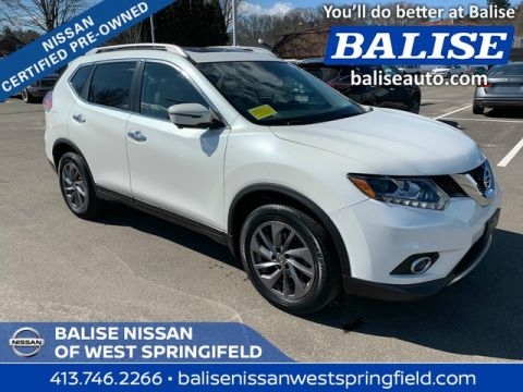 Certified Pre-Owned 2016 Nissan Rogue AWD SL With Sunroof