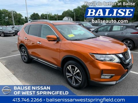 Pre-Owned 2017 Nissan Rogue AWD SL With Moonroof