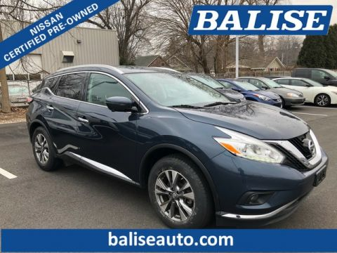 Certified Pre-Owned 2016 Nissan Murano AWD SL With Navigation