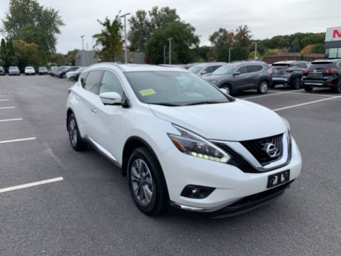 Pre-Owned 2018 Nissan Murano AWD SL With Moonroof