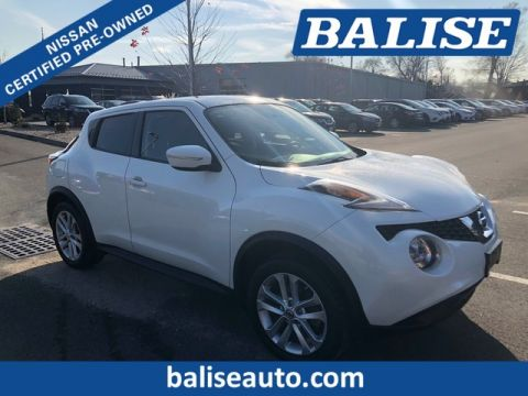 Certified Pre-Owned 2015 Nissan JUKE AWD SV With Moonroof